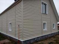 Блок-хаус бежевый