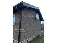 Фасадные панели Стоун хаус, цвет сланец бежевый