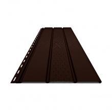 Софит ПВХ Budmat, RAL 8019 Тёмно-коричневый