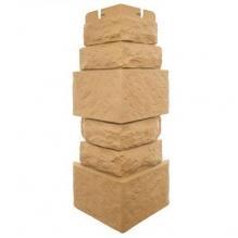 Угол наружный «Фасадная плитка», Златолит