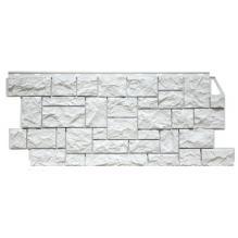Камень дикий мелованный белый