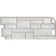 Камень мелованный белый