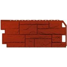 Камень природный красно-коричневый