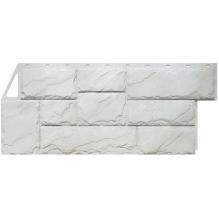 Камень крупный  мелованный белый
