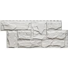 Цокольный сайдинг Wellbeen коллекция Гранит Леон - Гранит Белый
