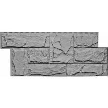 Цокольный сайдинг Wellbeen коллекция Гранит Леон - Гранит Серый