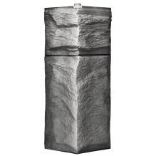 Угол для цокольного сайдинга Wellbeen Гранит Леон - Гранит Серый