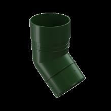 Колено 45 гр водосточный DACHA Docke Зеленый