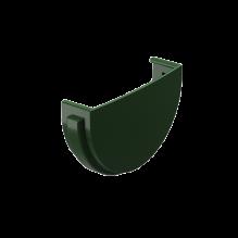 Заглушка желоба водосточный DACHA Docke Зеленый