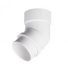Колено Docke Lux 45° Белый