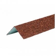 Угол металлический внешний Технониколь Hauberk Терракотовый кирпич
