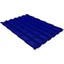 Металлочерепица Grand Line Classic 0,45 PE Ультрамариново-синий (RAL5002)