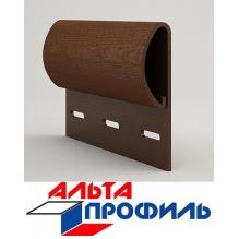 Финишная планка коричневая люкс акрил  альта-профиль ( 3м )