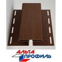 H-профиль коричневый люкс  акрил альта-профиль ( 3м )