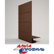 J-Фаска коричневая люкс акрил  альта-профиль ( 3м )