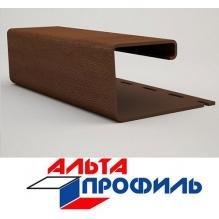 J - профиль коричневый люкс акрил альта-профиль ( 3м )