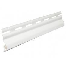 Стартовая планка белая для сайдинга VOX ( 3.05м )