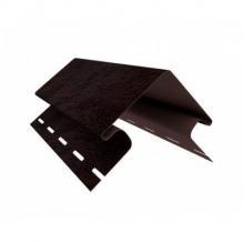 Наружный угол Ю-Пласт, Кирпич коричневый ( 3м )