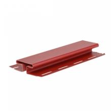 H-профиль (соеденительная планка) красный ( 3,05 м )