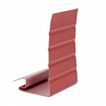 Околооконная планка для сайдинга, красная ( 3,05 м )