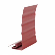 Ветровая планка  для сайдинга красная ( 3,05 м )