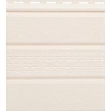 Софит белый с центральной перфорацией Гранд-лайн