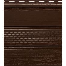 Софит коричневый с центральной перфорацией Гранд-лайн
