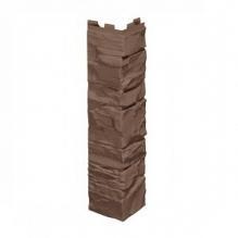 Угол коричневый  VILO SOLID STONE (BROWN)