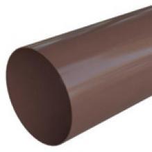 Труба водосточная Альта-профиль Элит  ПВХ коричневая 3м