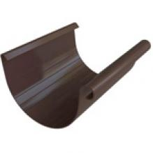 Желоб ПВХ Альта-профиль Элит   коричневый 3м
