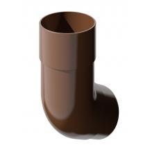 Колено универсальное Технониколь коричневое