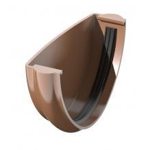 Заглушка желоба Технониколь коричневая