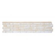 Фасадные панели Яфасад, демидовский кирпич цвет Слоновая кость