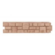 Фасадные панели Яфасад, екатеринский камень цвет Янтарь