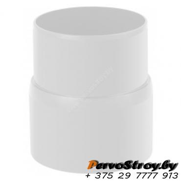 Муфта трубы Эконом Альта-Профиль Белый - изображение 1