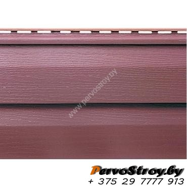 Сайдинг Альта Профиль акриловый (Премиум), Красно-коричневый - изображение 1
