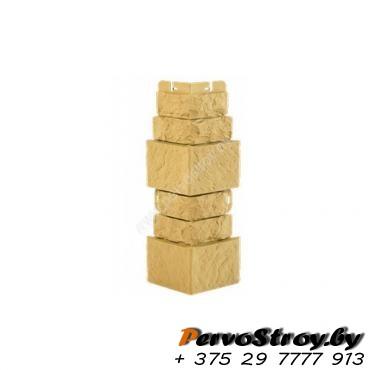 Угол наружный «Фасадная плитка», Опал - изображение 1