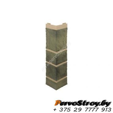Угол наружный «Камень», Малахит - изображение 1
