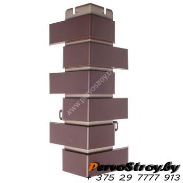 Угол наружный «Кирпич Клинкерный», Шоколадный - изображение 1