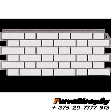 Кирпич Мелованный Белый - изображение 1