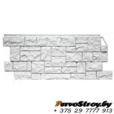 Камень дикий мелованный белый - изображение 1