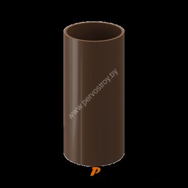 Труба водосточная DACHA Docke Коричневый  ( 3 метра ) - изображение 1