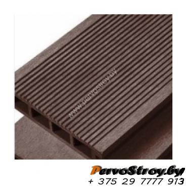 Террасная доска Timber Wood Decking Венге, цвет коричневый ( 3 метра ) - изображение 1