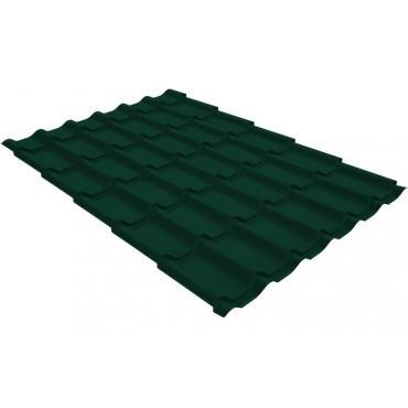Металлочерепица Grand Line Classic 0,4 PE Зеленый мох (RAL6005) - изображение 1