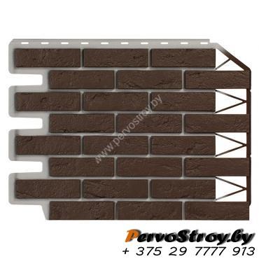 Кирпич темно-коричневый  - изображение 1
