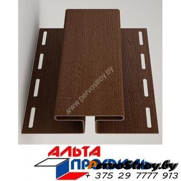 H-профиль коричневый люкс альта-профиль ( 3м ) - изображение 1