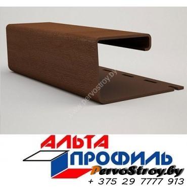 J - профиль коричневый люкс альта-профиль ( 3м ) - изображение 1