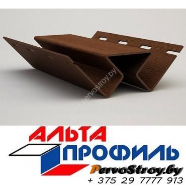 Угол внутренний коричневый люкс акрил альта-профиль ( 3м ) - изображение 1