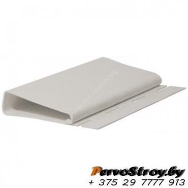 Наличник ( J-профиль широкий ) Гранд-лайн Белый  ( 3,05м ) - изображение 1
