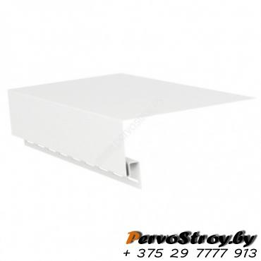 Околооконная планка широкая,  (шир.  25 см)  белая  Vox ( 3.05м ) - изображение 1